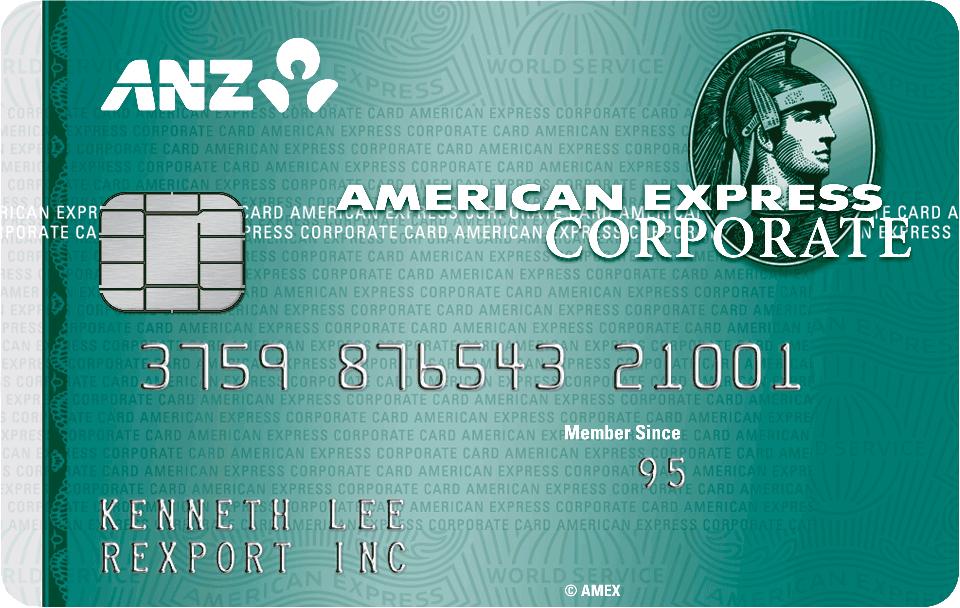 ANZ Gold Corporate Card | American Express Hong Kong